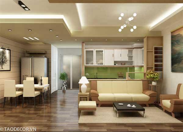 trang trí nhà chung cư