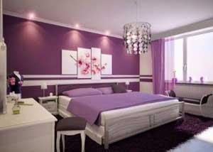 trang trí phòng ngủ lãng mạn