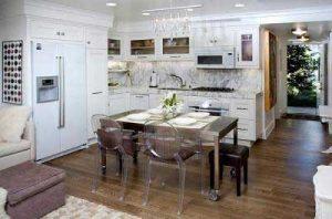 trang trí nhà bếp hẹp