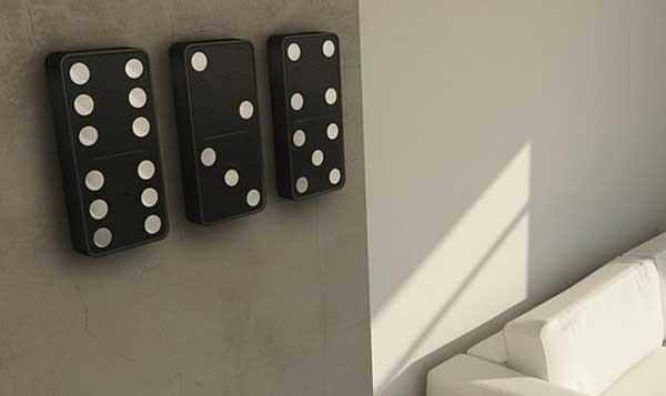 Đồng hồ Domino với từng quân Domino