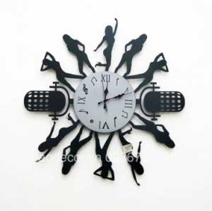 Đồng hồ music