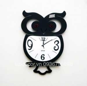 Đồng hồ treo tường chim cú