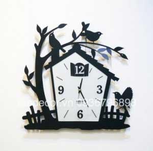 đồng hồ treo tường tổ chim
