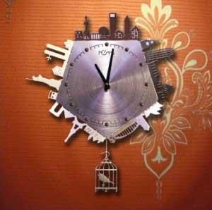 Đồng hồ treo tường năm kì quan