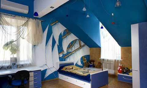 Với những bé yêu thích biển và đại dương thi đây là một ý tưởng rất hay