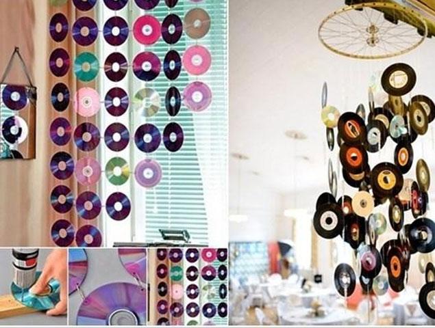 Khi những chiếc CD đã quá cũ cỹ, không sử dụng được, hãy cho nó làm một chức năng khác thay vì lưu trữ nhạc.