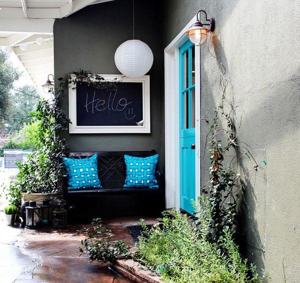 trang trí nhà bằng phấn