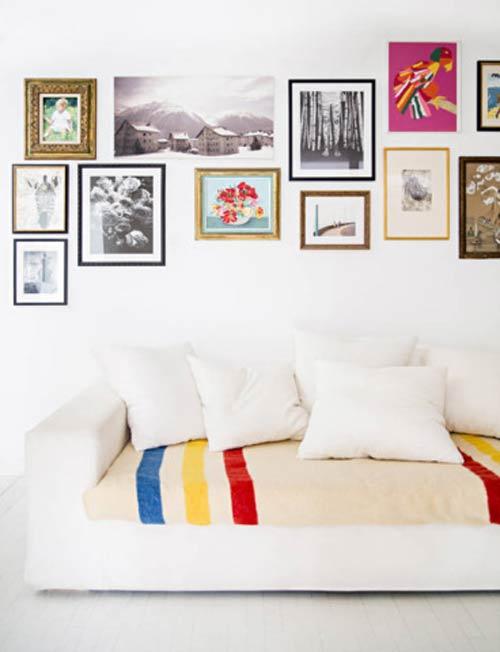 Trang trí phòng khách đơn gian đẹp