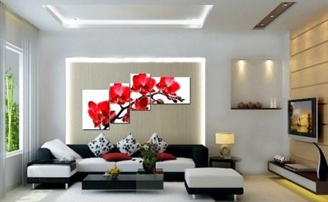 các kiểu trang trí tường nhà