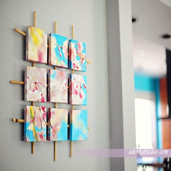trang trí tường khung tranh