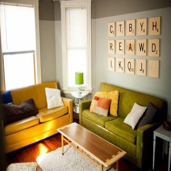 trang trí tường trong nhà