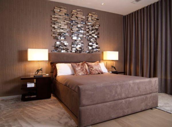 trang trí tường với phòng ngủ dơn giản