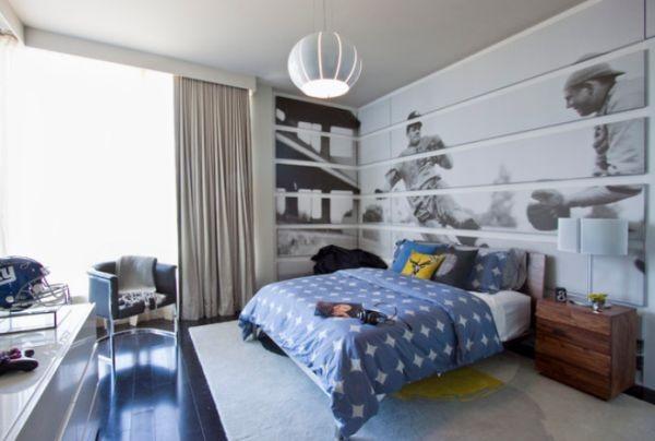 trang trsi tường phòng ngủ đơn giản