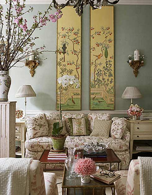 trang trí tường phòng khách đẹp