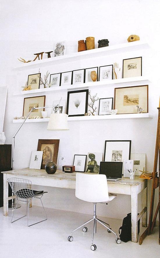trang trí tường bằng ảnh