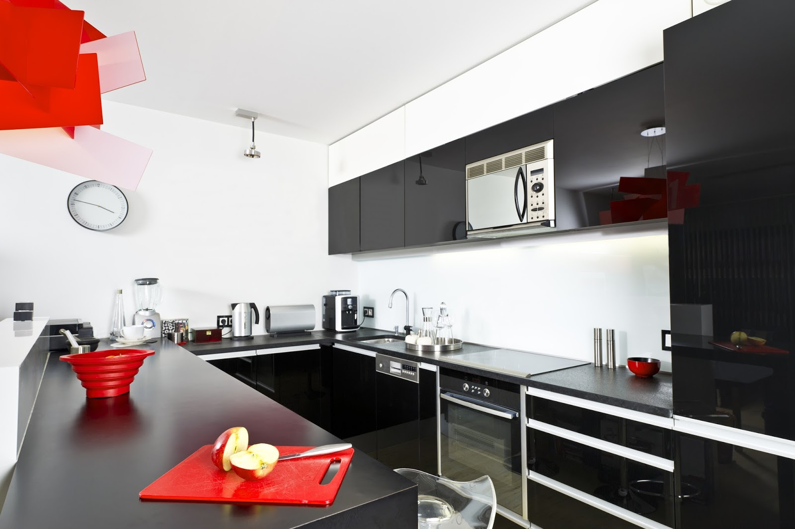 trang trí phòng bếp
