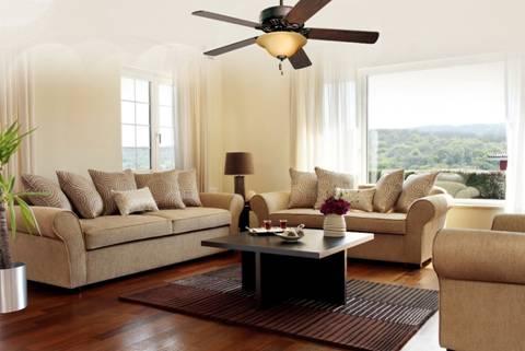 Quạt trần trang trí phòng khách