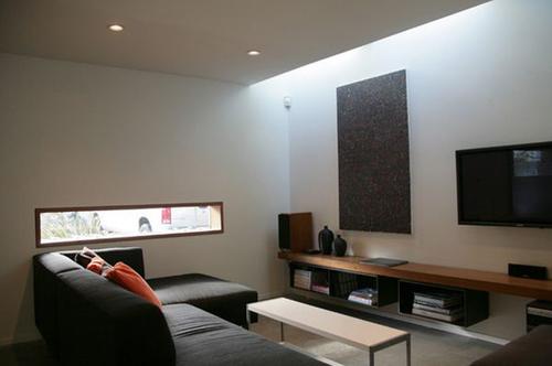 trang trí tường treo tv