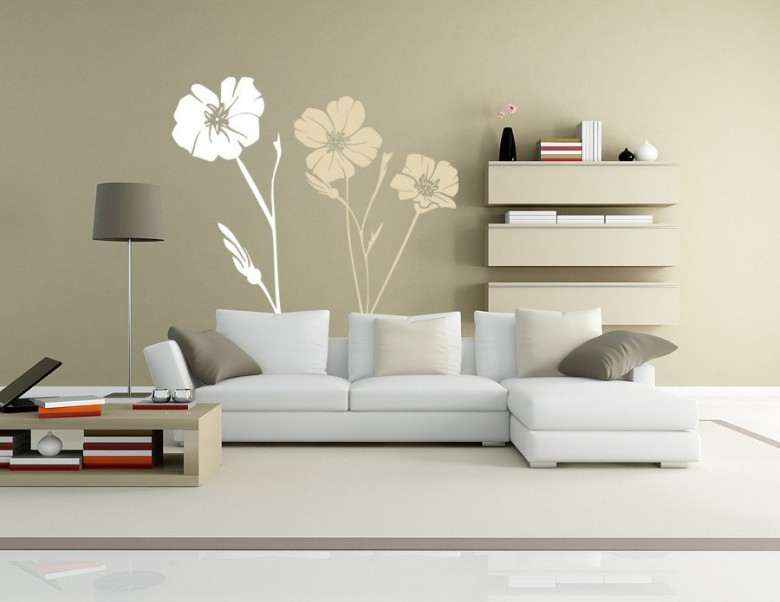 Trang trí tường bằng hình vẽ