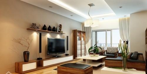 trang trí phòng khách nà chung cư
