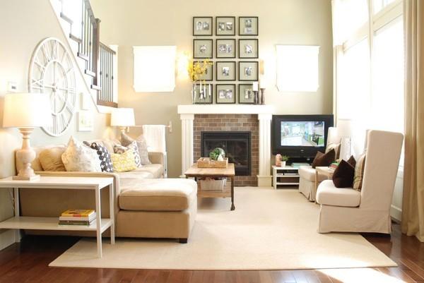 sơn trang trí phòng khách