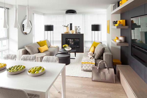 Các mẫu trang trí phòng khách đẹp