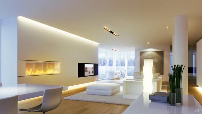 các kiểu tủ trang trí phòng khách