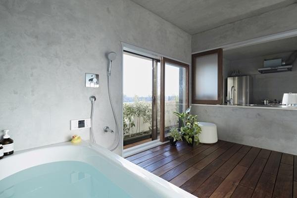 Phòng tắm rỗng rãi và vô cùng tiện nghi