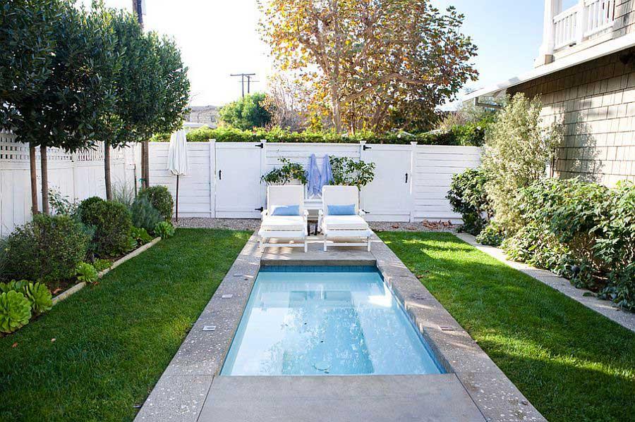 Bể bơi sân vườn