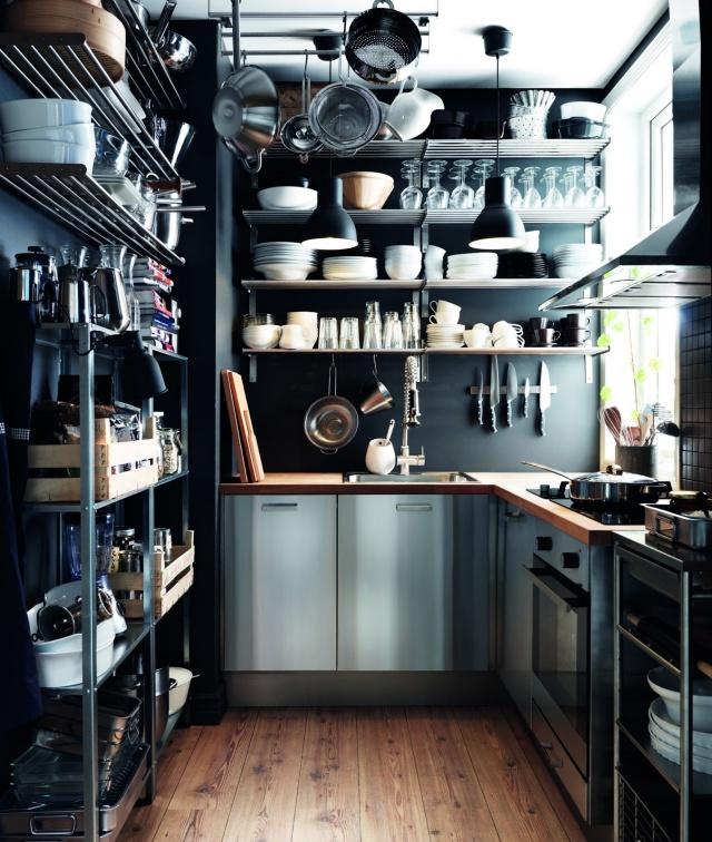 làm mới căn bếp nhỏ