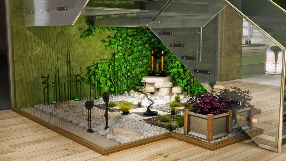 khu vườn trong nhà