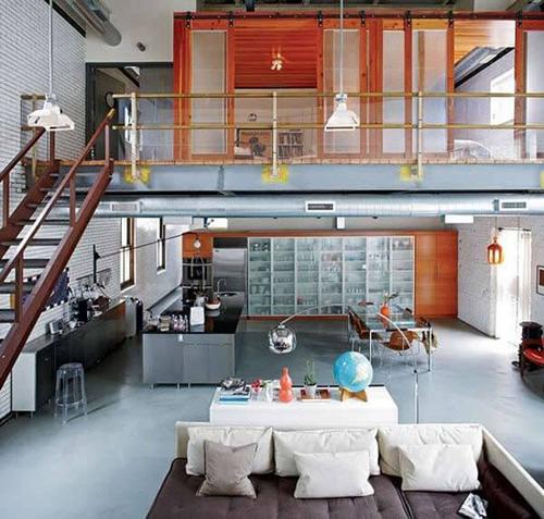 thiết kế tầng lửng