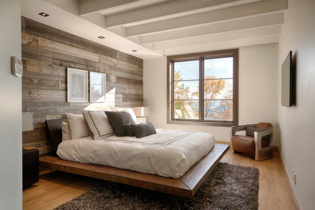 17-wooden-bedroom-walls-simple-bedroom-design-wood