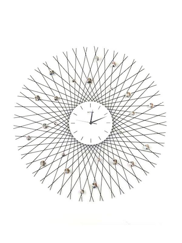 Đồng hồ treo tường đẹp Đan lưới