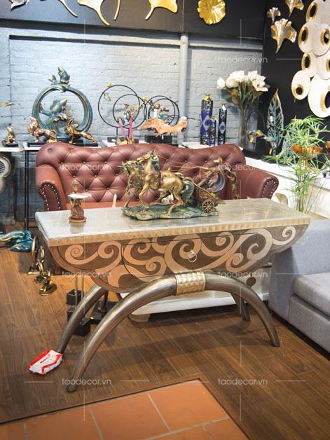 đồ trang trí phòng khách-đồ decor cổ-1