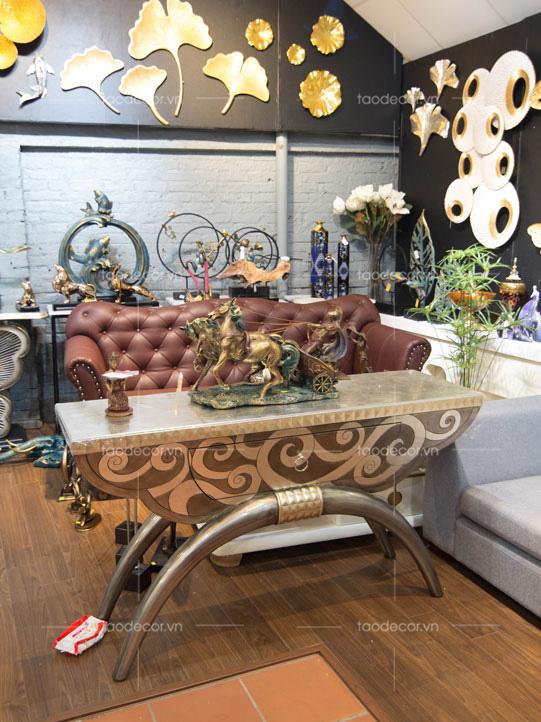 đồ trang trí phòng khách-đồ decor cổ