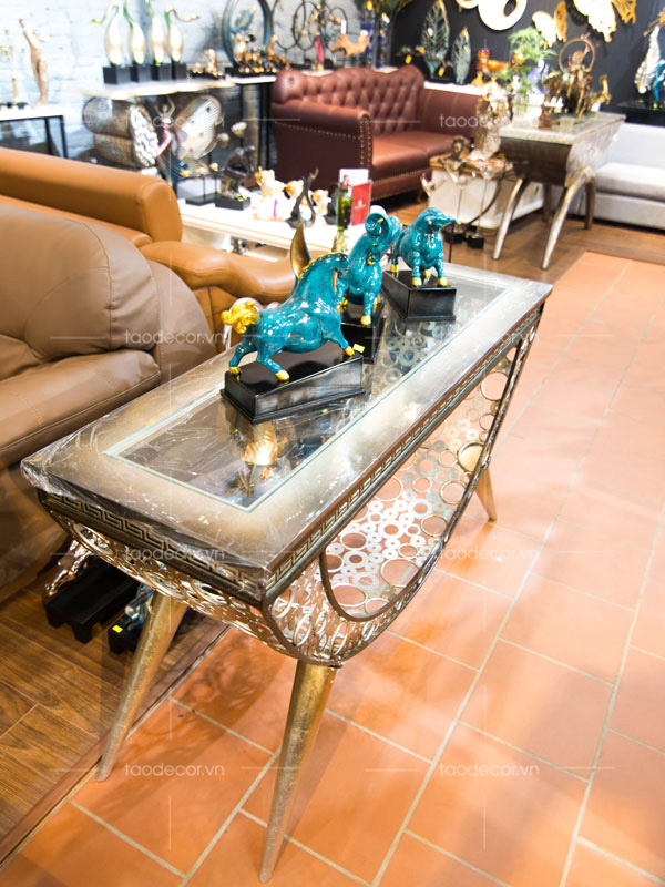 decor nội thất cao cấp-bàn trang trí phòng khách-6