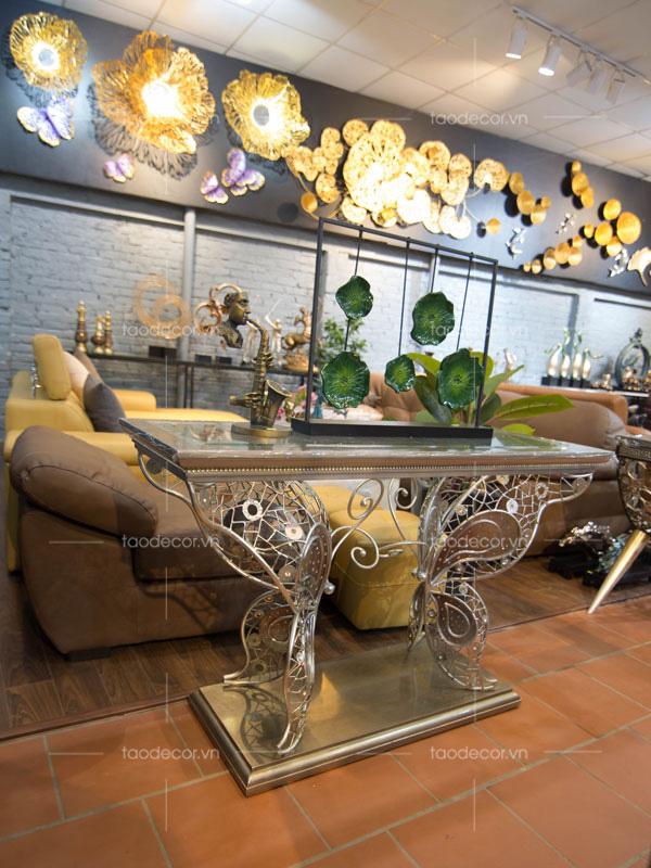 trang trí nhà-bàn decor phòng khách