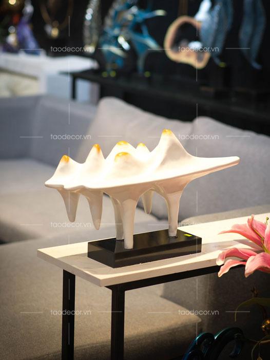 đồ trang trí phòng khách-đồ vật trang trí kệ treo tường-mua đồ trang trí kệ tivi-1