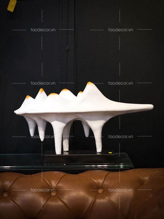 đồ trang trí phòng khách-đồ vật trang trí kệ treo tường-mua đồ trang trí kệ tivi