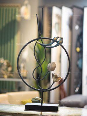 trang trí nhà-mua đồ trang trí kệ ở đâu-đồ trang trí phòng khách sang trọng
