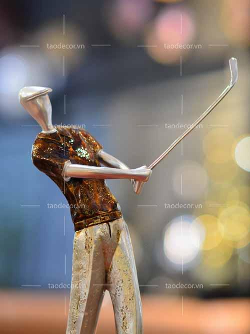 Tượng Ba Người Chơi Golf - taodecor.vn trang trí nhà và quà tặng 4