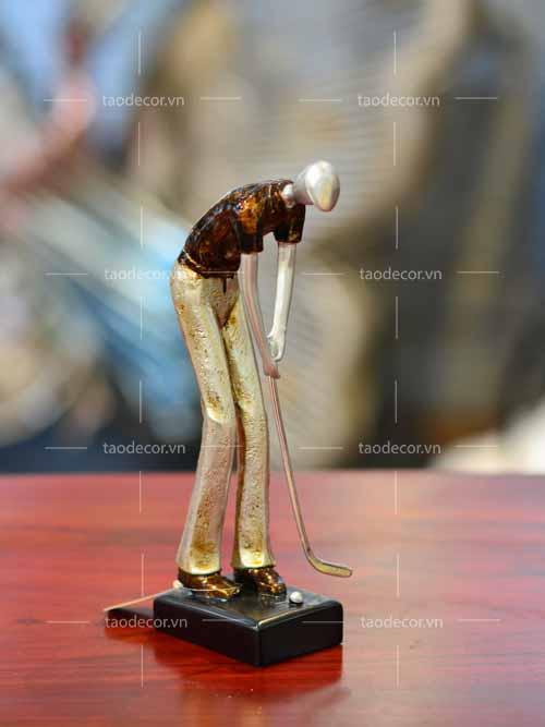 Tượng Ba Người Chơi Golf - taodecor.vn trang trí nhà và quà tặng 2