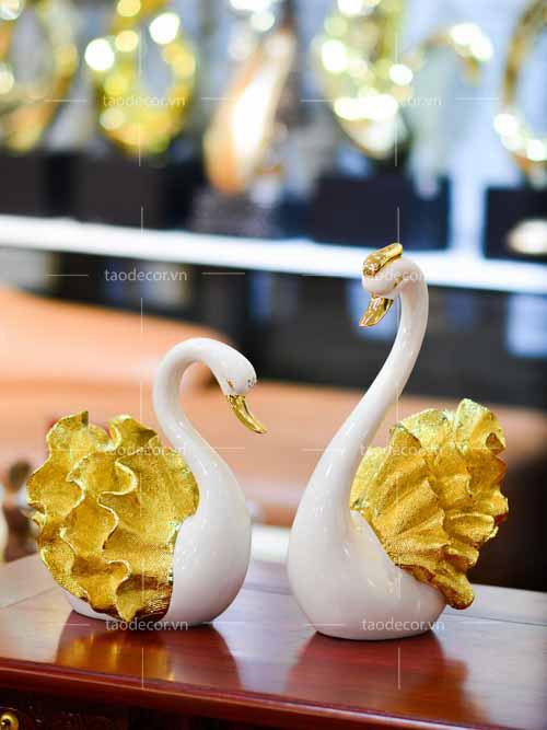 Thiên Nga Đuôi Vàng - taodecor.vn trang trí nhà và quà tặng 2