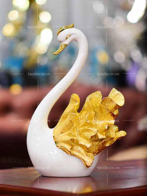 Thiên Nga Đuôi Vàng - taodecor.vn trang trí nhà và quà tặng