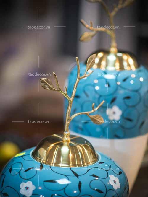 Bộ bình ngọc hoa - taodecor.vn trang trí nhà và quà tặng 4