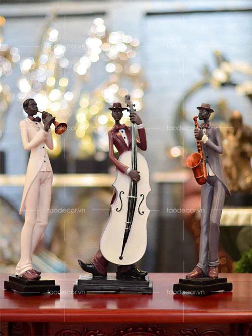 Bộ ba nhạc công - taodecor.vn trang trí nhà và quà tặng