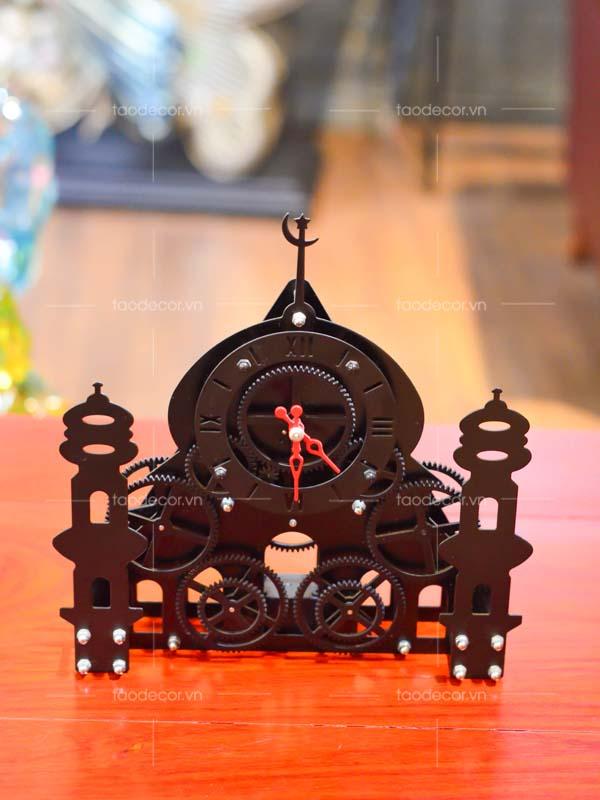 đồng hồ tòa lâu đài - taodecor.vn trang trí nhà và quà tặng 1
