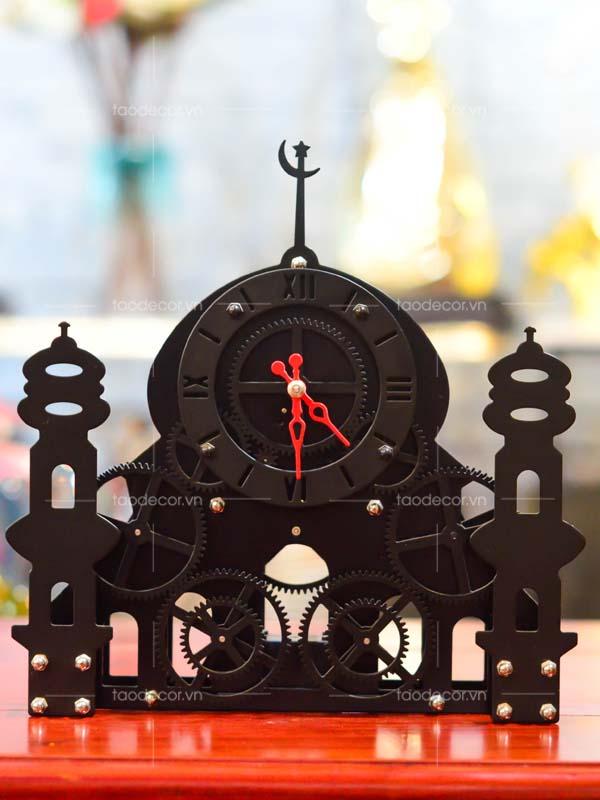 đồng hồ tòa lâu đài - taodecor.vn trang trí nhà và quà tặng