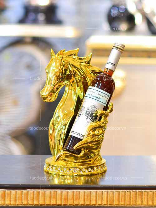 giá rượu đại mã - taodecor.vn trang trí nhà và quà tặng